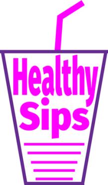 Healthy Sips Logo Smaller